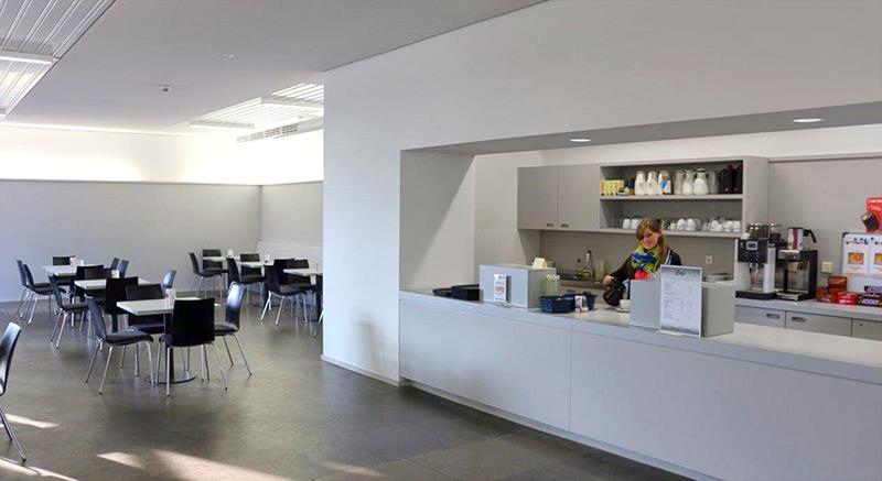 Cafeteria in der Gedenkstätte Esterwegen